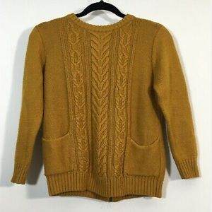 Anthropologie Sweater Small Wool Blend  Pullover
